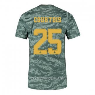 Maglia Real Madrid Portiere Giocatore Courtois Away 2019 2020