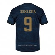 Maglia Real Madrid Giocatore Benzema Away 2019 2020