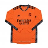Maglia Real Madrid Portiere Away Manica Lunga 2020 2021