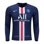 Maglia Paris Saint-Germain Home Manica Lunga 2019 2020