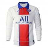 Maglia Paris Saint-Germain Away Manica Lunga 2020 2021