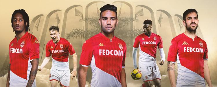 maglia AS Monaco poco prezzo 2020 2021