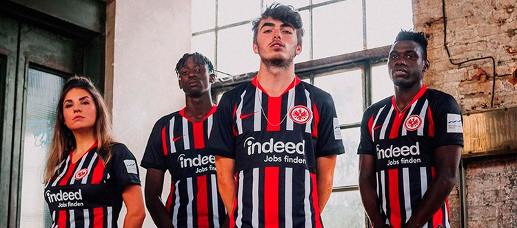maglia Eintracht Frankfurt poco prezzo 2020 2021
