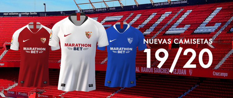 maglia Sevilla FC poco prezzo 2019 2020