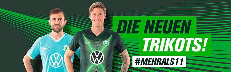 maglia VfL Wolfsburg poco prezzo 2020 2021